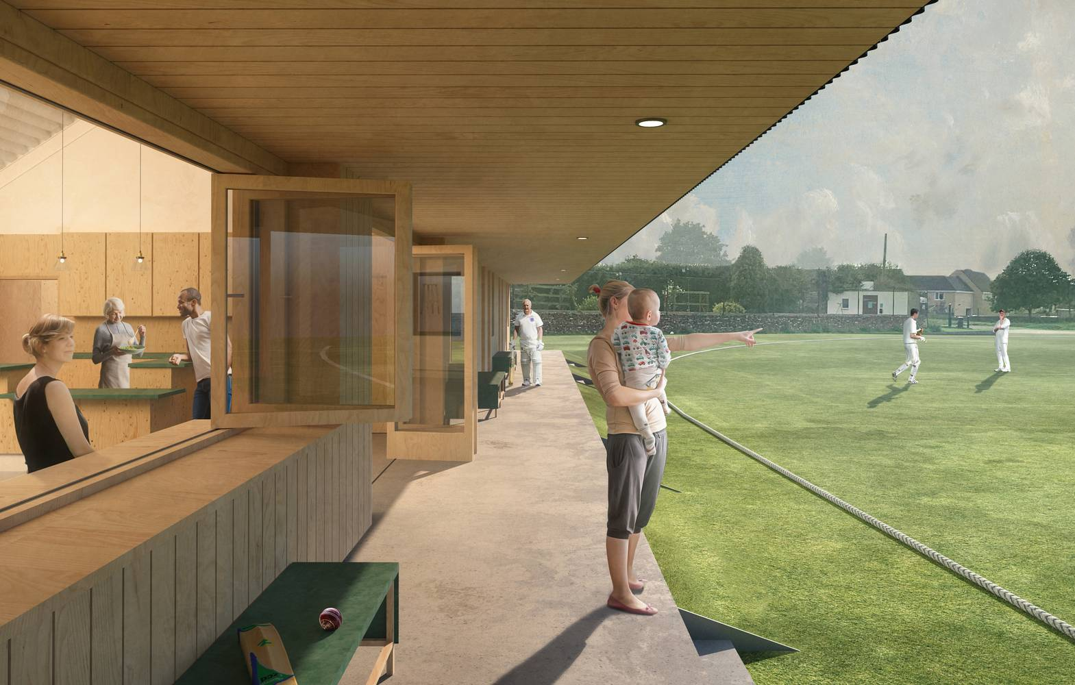 PRJ-Tetbury Youth and Sports Pavilion