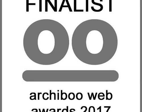 Archio finalists for Archiboo Web Awards 2017