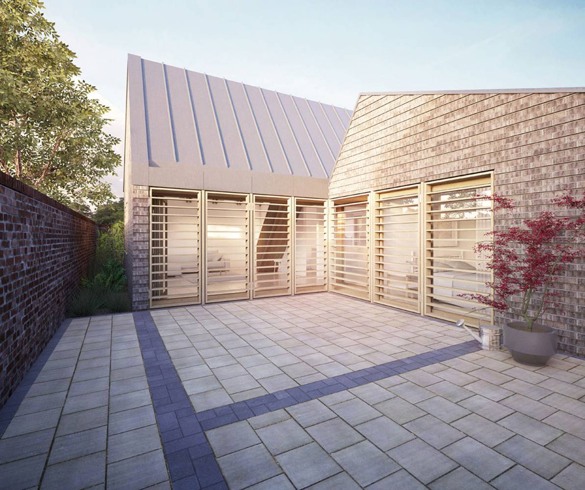 <p>By clearly analysing the constraints of the site, and siting the building in response to these we were able to make an argument for a much larger building than our client had anticipated.</p>