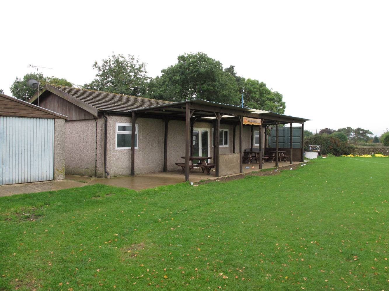<p>Current Tetbury Sports Pavilion</p>